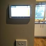 MyAir5 touch panel installation