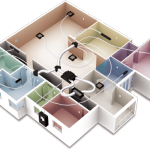 MyAir allows you to zone your home like you zone your lighting, with the option of up tot 10 zones to control your comfort from anywhere in the house.